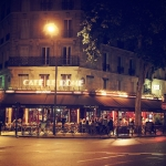 pariscafeatnight