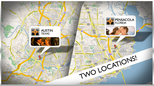 Studio 3087 Locations Map